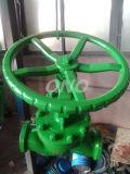 Válvula de globo soldada Pressur elevada da central eléctrica