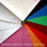 Papel decorativo da melamina metálica para a mobília, madeira compensada, MDF, HPL
