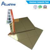 Installation en aluminium de panneau de revêtement/panneaux composés en aluminium