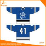 Healong Komprimierung-volle Farbe sublimiertes unbelegtes Großhandelshockey Jersey