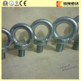 Boulon d'oeil de levage de haute résistance galvanisé de l'attache DIN582, noix de levage d'oeil