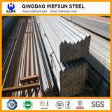 Cornière d'égale d'acier doux de longueur de la norme 6m de la GB Q345