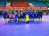 Gemakkelijk handhaaf de Modulaire Vloer van Futsal van het Type voor de Binnen en OpenluchtConcurrentie (Gouden Zilveren Brons Nicecourt-)