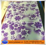 Конструкция напечатанная цветком PPGI в катушках