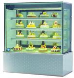 4 Schichten vertikale Kuchen-Bildschirmanzeige-Schaukasten-