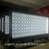 Pôle méga annonçant le cadre extérieur d'éclairage LED de panneau-réclame