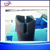 Edelstahl-Rohr-runde Gefäß CNC-Plasma-Flamme-Ausschnitt-Loch-Bohrung-kerbende Maschine