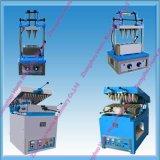 Máquina de la preparación de galletas de la oblea del cono de helado de 4 pistas