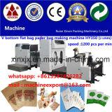 Bolsa de papel del alimento que hace que el alimento del papel de máquina empaqueta la fabricación de la bolsa de papel de máquina que hace la máquina