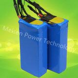Qualitäts-Lithium-Batterie-Satz einfacher blauer eingewickelter Lipo Batterie-Plastiksatz 12V 24V 48V 72V für elektrisches Auto
