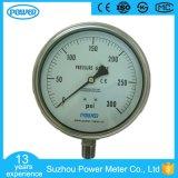 150mmの高品質すべてのステンレス鋼の圧力計