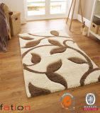 Super weiches gemütliches modernes Bereichs-Wolldecke-spezielles Schlafzimmer L 3D Shaggy Teppich