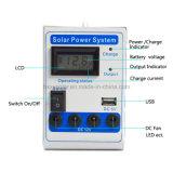 Sistema de energia 12V solar portátil para HOME pequenas, sistema solar, sistema de energia solar