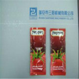 Ketchup Catsup Four-Side Sealing et Multi-Line Packing Machine