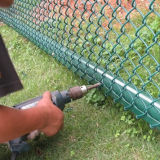 Link Chain Fence Fabric/Fence per Playground/Chain Link Fence Gate