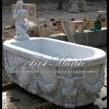 Vasca da bagno superiore di Metrix Carrara per la decorazione domestica Mbm-1043