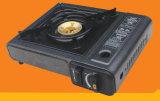 Poêle de gaz portatif de bec de cuivre (1 utilisation ou double utilisation)