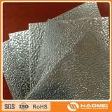 Покрашенный лист выбитый штукатуркой алюминиевый для толя