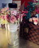 botella de cristal portable de la botella de cristal de 1000ml Pongdang