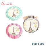 Tour Eiffel en cuir personnalisé composent le miroir