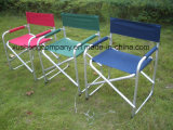 Cadeira de praia de dobramento ao ar livre para o diretor Cadeira com Aluinium