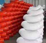Codo de la capa doble de la bomba concreta del fabricante del OEM