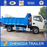 Dongfeng 5tons 작은 소형 가벼운 팁 주는 사람 덤프 트럭