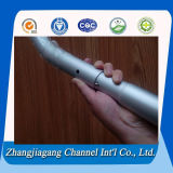 Anodisiertes Aluminium Pole mit Spring Button Lock
