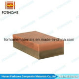 Plaque bimétallique de soudure explosive en acier de cuivre