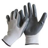 自動車修理の手袋のニトリルは手袋の保守作業の手袋を浸した