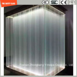 4-19mm Sicherheits-Aufbau-Glas, Sand-startendes, heißes schmelzendes gekopiertes Glas für Hotel-u. Ausgangstür/Fenster/Dusche/Partition/Zaun mit SGCC/Ce&CCC&ISO Bescheinigung