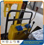 Máquina escavadora do escavador 0.8t da esteira rolante da maquinaria da engenharia mini para a venda
