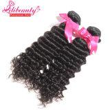 волосы волны Unprocessed девственницы высокого качества 8A малайзийской глубокие