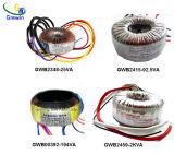 Transformador toroidal de cobre para el equipo audio