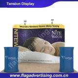 L'abitudine ha curvato facendo pubblicità alla visualizzazione della fiera commerciale del tessuto di tensionamento