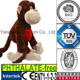 Brinquedo macio do luxuoso do gorila do animal enchido do bebê do CE