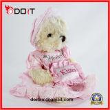 25cm Brinquedo de menina Brinquedo de pelúcia com saia rosa