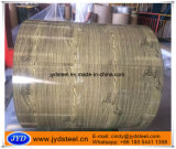 PPGI impreso grano de madera en la bobina para la casa