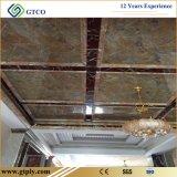 Muur van pvc lamineerde Decoratieve het Behandelen Comités