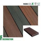 Decking en bois de la coextrusion WPC de Teack - plancher en bois de texture