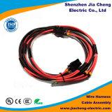 Harness impermeable del alambre del conector de la luz del moldeado con el tubo de la funda del PVC