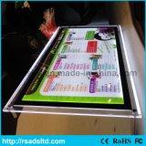 Facendo pubblicità al segno della casella chiara del menu della visualizzazione di LED per il ristorante