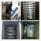 Galvanisierte stapelnde Stahlladeplatten-Hochleistungszahnstange mit Pfosten