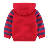 有機性綿の赤ん坊のHoodieの方法子供のHoodieのプルオーバーのスエットシャツ