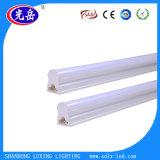 Ce & luz barata Certificated RoHS da câmara de ar do diodo emissor de luz T5 de 18W China integrados