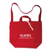 Sac réutilisable réutilisé promotionnel de coton d'achats d'emballage pliable
