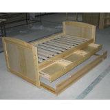 Kiefernholz-Bett-Möbel mit Fach und Underbed (WJZ-B24)