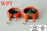 Het kneedbare Ijzer groefte Flexibele Koppeling (88.9) FM/UL
