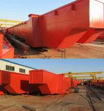 Constructeur électrique d'usine de grue de portique de poutre de double de chariot à treuil