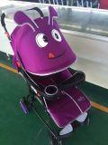 Kabinendach-Baby-Spaziergänger des China-Karikatur-Entwurfs-Stahlrahmen-+Line